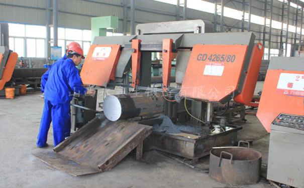 锻件厂钢材划线落料